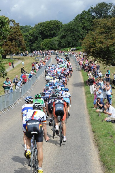 Richmond Park Cycling during the Olympic test event