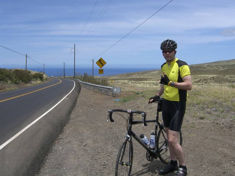 On the Queen K in Kona