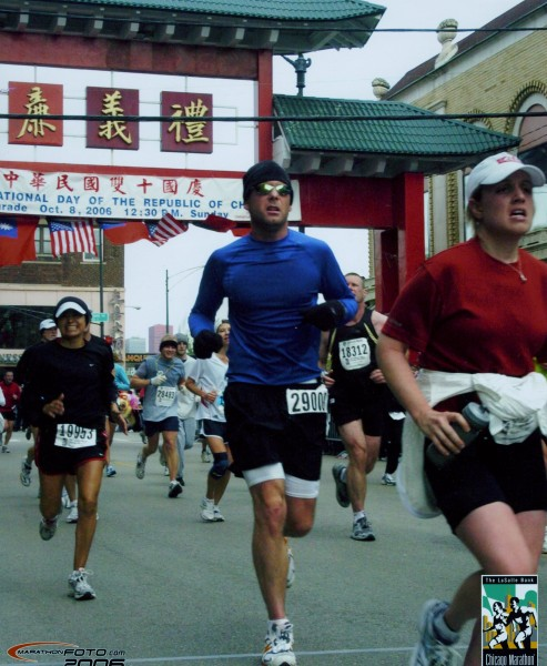 running marathons