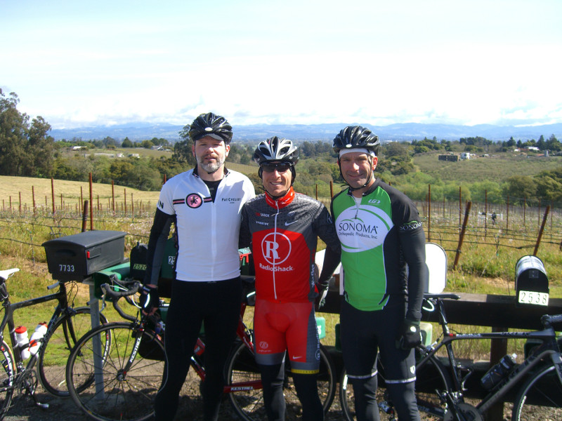 Ride with Levi Leipheimer in Sonoma - [ahem…he wanted some tips on his TT position]