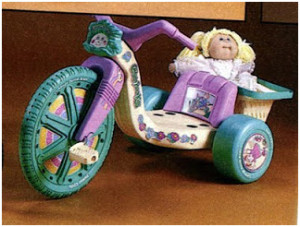 Cabbage Patch Kids Big Wheel