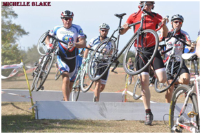 This was the race in Orlando where I separated my right shoulder going over a log