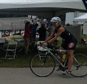 Klein - Half Ironman transition