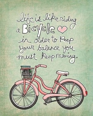 Klein-bike quote