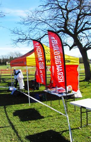 Big Marsh and Spidermonkey Cycling Challenge You!