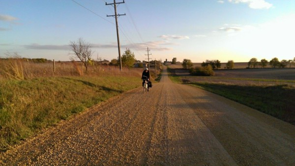 Gravel and bike camping on the Surly!