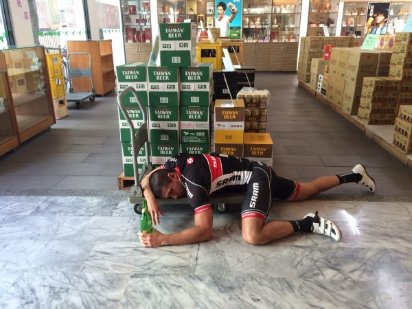 Taiwan Post Ride Recovery