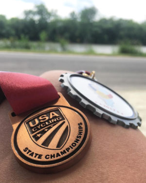 Medals from the IL State Championship 2017